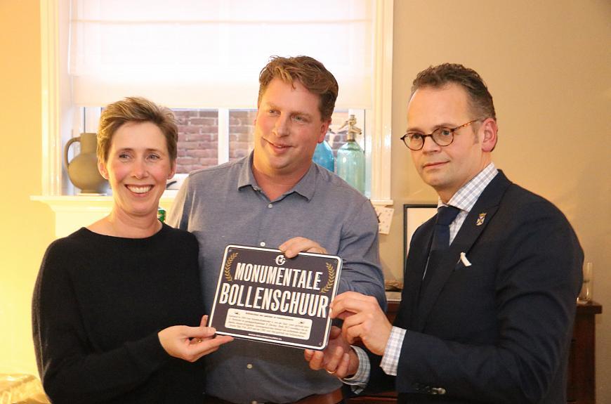 Zwarte Tulpprijs 2019 voor bollenschuur in Katwijk