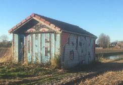 Nieuweweg 154t.o. nr. (ten westen van de spoorlijn), Hillegom